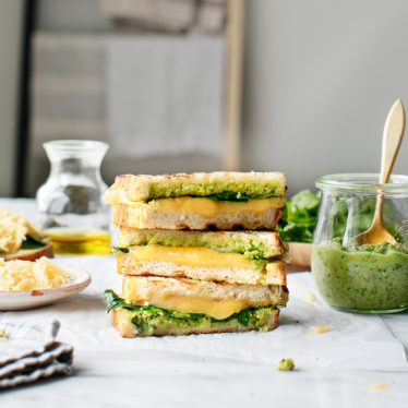 Harissa Grilled Cheese