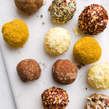 Roll-Your-Own Chèvre Balls