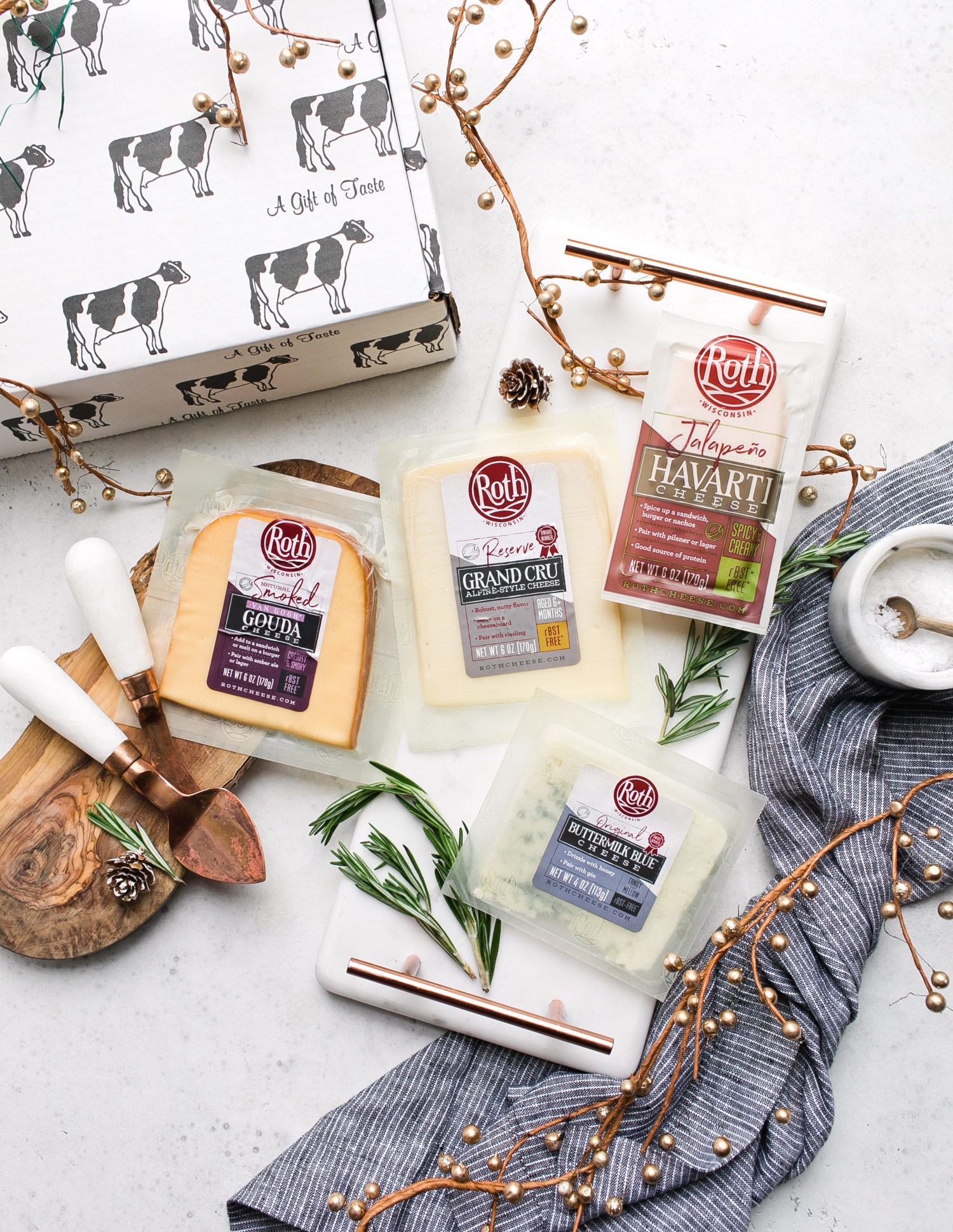 The Cheese Board Gift Package