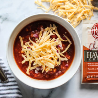Hearty Chili with Chipotle Havarti
