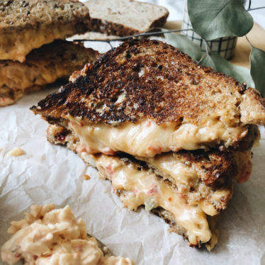 Chipotle Pimento Grilled Cheese Sandwiches