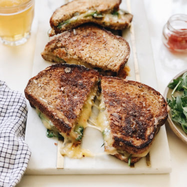 Jalapeño Grilled Cheese