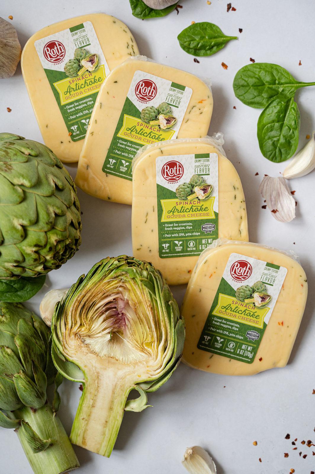 Roth Spinach Artichoke Gouda cheese