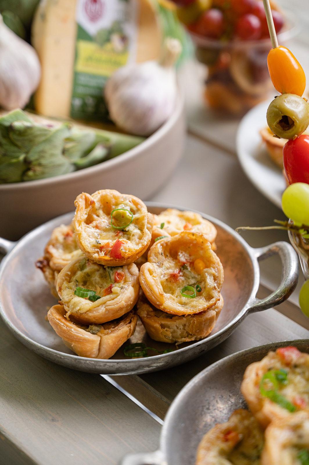 Mini Spinach Artichoke Tarts