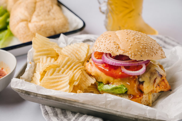 How to Make Hot Honey and Gouda Grilled Chicken Sandwiches