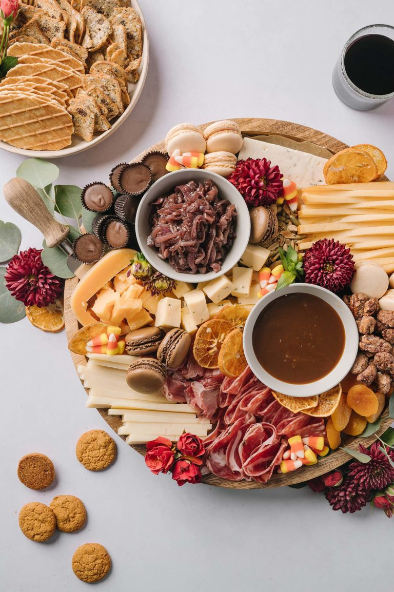 Sweet & Savory Fall Cheeseboard